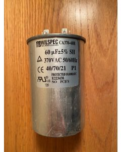 Air Conditioner Capacitor Wilspec CA370-60R E223438