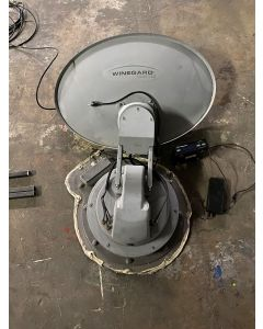 Winegard Trav'ler Satellite Dish with Mount and Antenna Interface Box