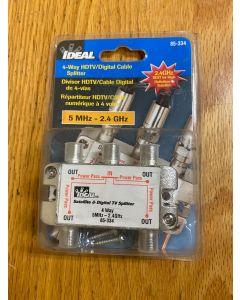 Ideal 85-334 4-Way HDTV Digital Splitter