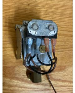 Used Suburban RV Water Heater Gas Valve Replacement 161109